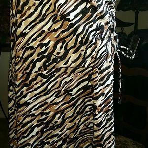Merona Dresses - Merona XL animal print dress